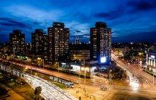 Wrocław nocą