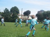 dzieci podczas meczu
