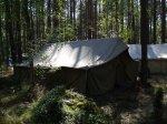 śpiwory na obozie