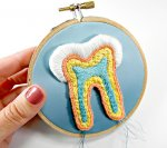 Model budowy zęba