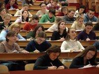 studenci na wykładzie